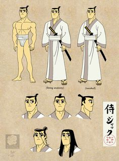 samurai_jack__sort_of__reference_sheet_by_violette_aner-d9pw1aw.jpg (800×1082)