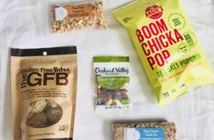 Current Favorite Healthy Snacks – Abundance of Abby  Perfect for college students, people on the go, hiking, traveling, etc. There are paleo and gluten free options!