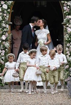 写真特集キャサリン妃の妹ピッパミドルトンさん挙式