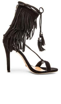 Schutz Kija Heel in Black | REVOLVE