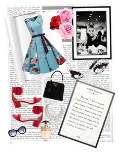 """""ℕ𝕠𝕥𝕙𝕚𝕟𝕘 𝕚𝕤 𝕚𝕞𝕡𝕠𝕤𝕤𝕚𝕓𝕝𝕖 𝕥𝕙𝕖 𝕨𝕠𝕣𝕕 𝕚𝕥𝕤𝕖𝕝𝕗 𝕤𝕒𝕪𝕤 𝕚'𝕞 𝕡𝕠𝕤𝕤𝕚𝕓𝕝𝕖"". Audrey Hepburn ✨"" by jarabcande on Polyvore featuring moda, Amanti Art, Aquazzura, Oliver Goldsmith, Prada, Nude, internationalwomensday, pressforprogress, FemaleDesigners y ByWomenForWomen"