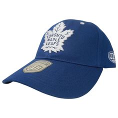 Toronto Maple Leafs Old Time Hockey Men's Open Ice Adjustable Hat - shop.realsports - 1