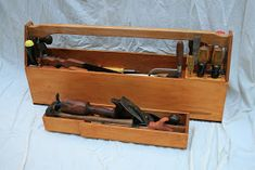 There's been a lot of talk about lidded tool chests over the last year or two in the woodworking world, aided by the US woodworking legend C...