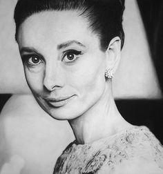 Audrey Hepburn 5 by MVVR.deviantart.com on @DeviantArt