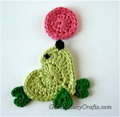 Crochet Seal Applique