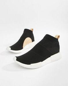 newest a56d0 bac15 adidas Originals NMDCS1 PK Sneakers In Black AQ0948