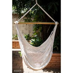 Hanging Chair ECO Friendly Top bar in Bamboo or Coffeewood Extra Long... ($59) ❤ liked on Polyvore