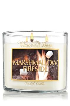 $20 Marshmallow Fireside 14.5 oz. 3-Wick Candle - Slatkin & Co. - Bath & Body Works