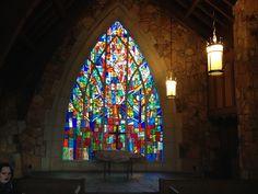 Ida Cason Memorial Chapel, Callaway Gardens, Pine Mountain, Georgia