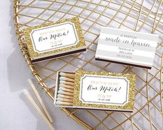 You've found the love of your life, and it's time for a celebration! Make sure every tiny detail is just right, even down to the guest favors. Kate Aspen is here to show you that good things come in small packages with these adorable personalized matchboxes. Make customized matches your [...]