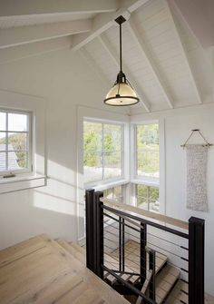 A stunning summer beach house was designed for a family of five to enjoy spending their summers, located in Menemsha Beach, Massachusetts.