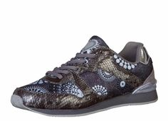 """Desigual Running Shoes """"Vanesa"""", grey sneakers with circles design. Grey Sneakers, Circle Design, Running Shoes, Sandals, Boots, Stuff To Buy, Fashion, Ash Trainers, Runing Shoes"""