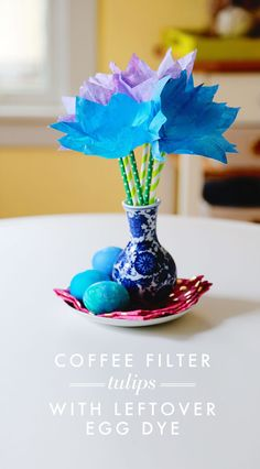 how-to-make-coffee-filter-tulips-with-egg-dye