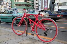I want to ride my BI CY CLE @Tokyo Japan