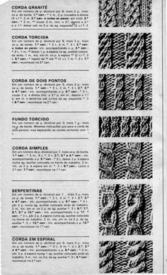 Serpentina, Knitting Designs, Knitting Tutorials, Knit Crochet, Charts, Texture, Patterns, Knitting For Beginners, Knitting Paterns