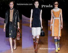 Collezione Prada primavera estate 2015 moda donna