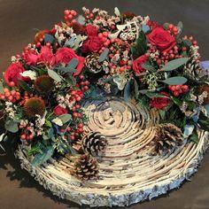 Christmas Home, Christmas Wreaths, Shapes, Holiday Decor, Autumn, Home Decor, Flowers, Wreath Fall, Garland