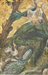 untitled watercolor and gouache - Elisabeth Sonrel