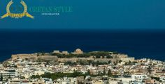 Rethymno from above..