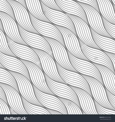 Geometric pattern with abstract waves, lines, stripes. A seamless vector background. Vector illustration