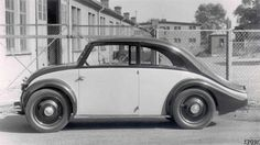 Original Volkswagen Beetle Hitler | 1931 Beetle-like Mercedes-Benz 120H prototype with a rear-mounted ...