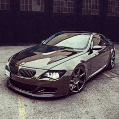 BMW E63 M6 metallic grey