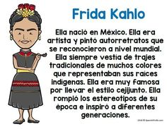 Hispanic Heritage Month posters in Spanish for Spanish class, kids or your bilingual class. Great idea for Bulletin Board Ideas or Classroom decorations for September and October. Teacher students about famous Latinos or Hispanic history (or historical fi