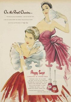 Peggy Sage Nail Polish 1954