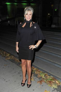 Samantha Fox at the Specsavers Spectacle Wearer of the Year Awards held at The V&A Museum in Kensington, London.