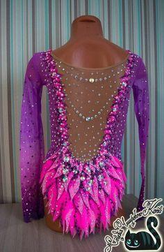 Maria Timoshkina's photos Gymnastics Costumes, Gymnastics Leos, Rhythmic Gymnastics Leotards, Dance Costumes, Figure Skating Dresses, Dance Wear, Pink Purple, Body, Womens Fashion