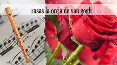 Partitura rosas la oreja de van gogh Flauta Dulce