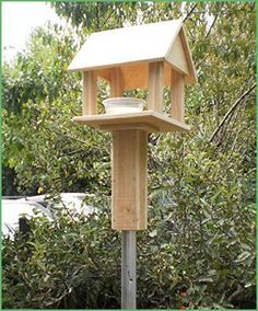 Welcome your winged friends to your garden with the addition of a creative birdhouse and feeder to your