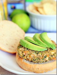 White Bean, Kale and Sweet Potato Burgers -- for veggie burger comparisons Sweet Potato Veggie Burger, Vegetarian Recipes, Healthy Recipes, Vegan Vegetarian, Vegan Burgers, Food For Thought, Whole Food Recipes, Healthy Eating, Clean Eating