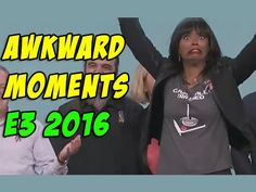 2016 Funny and awkward moments E3 2016, Video Game Industry, Awkward Moments, Entertaining, In This Moment, Guys, Youtube, Boyfriends