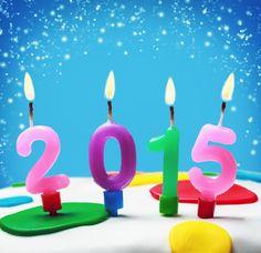 2015 con velas