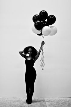 Balloons.  Model: Alexandra Elle  Shot by @BryonSummers for @Clctve