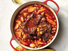 Sunday Dinner: Oven-Braised Pot Roast | Each week, we're bringing you 5 weeknight recipes you can make in 45 minutes or less. To make it even easier, we're helping you meal prep! Sign up for our newsletter,ThePrep, and get the recipes, plus tips, advice, and more, every weekend, right in your inbox. Roast Beef Hash, Cooking Lamb, Batch Cooking, Cooking Light Recipes, Cooking Turkey, Cooking 101, Cooking Classes, Chuck Roast Recipes, Pot Roast Recipes