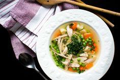 Каллорийность суп куриный с лапшой