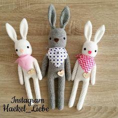 Zwei neue kleine Häschen  sind gewachsen  #häkeln #crochet #haekel_liebe #hase #bunny #crochetbunny #häkelhase #häkelnfürbabys #baby #lepre #amigurumi #amigurumis #instagram #handarbeit #germany #amigurumi #häkelnisttoll #häkelpuppe #häkelfürkinder #crochetlove #häkelnfürbabys #tendrecrochet #hase #häkel #häkelnmachtspass #häkelnisttoll #kundenauftrag #kundenwunsch #dasbestefürmeinekunden #baumwolle #yarnporn #yarn #hasenfamilie #familie by haekel_liebe