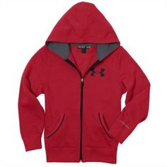 Under Armour's Charged Cotton® changed the game by taking the comfort of soft cotton and making it dry faster for superior performance. But they weren't done with moisture. Under Armour continued the battle by adding a water-repellent DWR coating that makes the water bead up and roll right off.   http://www.performancesportsstuff.com/pr/1314/kids-charged-cotton-storm-full-zip-hoody-red