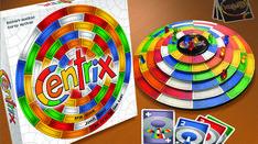 Centrix' Components: The fun Frantic spinning, Climbing, Jumping, Bumping Kickstarter Board Game Coming on Feb Tabletop Games, Spinning, Climbing, Board Games, 3d, Hand Spinning, Mountaineering, Hiking, Rock Climbing