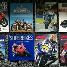 Used MOTORCYCLE BOOK COLLECTION