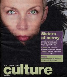 Magazine - 2008-03-09 Annie Lennox - UK - The Sunday Times - Culture - http://www.eurythmics-ultimate.com/magazine-2008-03-09-annie-lennox-uk-sunday-times-culture/