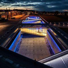 """Le bureau d'architecture BIG, Bjarke Ingels Group, a imaginé la structure du nouveau """"Musée Maritime du Danemark"""" à Helsingør. Une création ..."""
