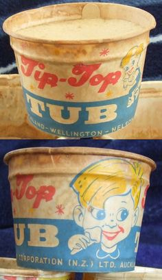 tip-top-cup-front-back - little tubs of vanilla ice cream. with little wooden spoon! My Childhood Memories, Best Memories, Top Tv Shows, New Zealand Houses, Nz Art, My Family History, Kiwiana, Kids Growing Up, Good Ole