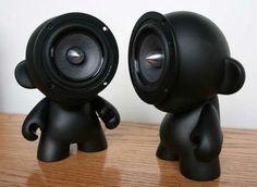 doll shaped speaker