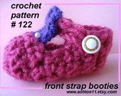 ront Strap Booties, sizes preemie to 12 months