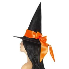 This Halloween, make sure you finish off your party look with this fantastic witch hat. It is a perfect addition to your Halloween outfit. With this hat, you c Halloween Witch Hat, Adult Halloween, Spirit Halloween, Witch Hats, Halloween 2020, Halloween Costume Accessories, Halloween Outfits, Halloween Costumes, Halloween Table Centerpieces