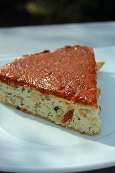 Tarte Ricotta Tomates séchées Ottolenghi