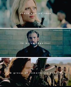 """There was an idea… to bring together a group of remarkable people "" 